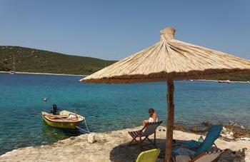 dovolená Chorvatsko robinzonáda